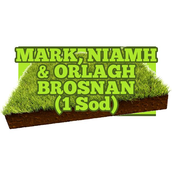Mark, Niamh & Orlagh Brosnan