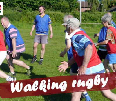 What is Walking Rugby?