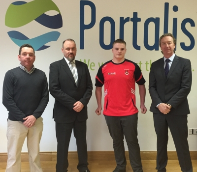 Portalis sponsor KRFC U18's Dylan