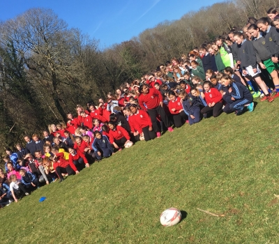 230 Girls at Knockreer for 'Give it a Try' Day