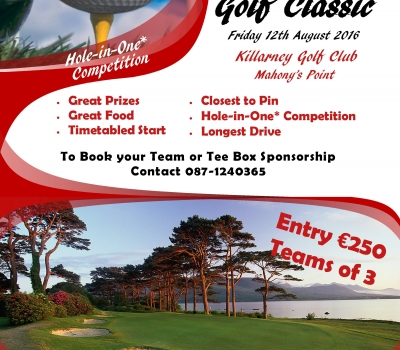 Killarney RFC Golf Classic – Friday 12th August 2016