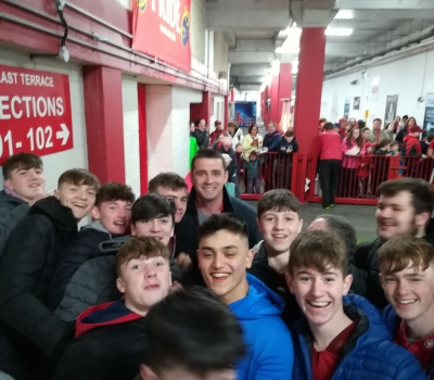 U16s on Tour at Thomond
