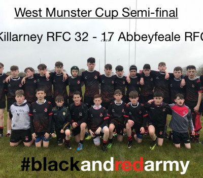 U14s Win West Munster Cup Semi-Final