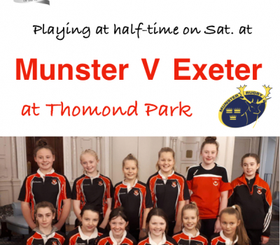KRFC Girls set to play at Thomond Park this Saturday!