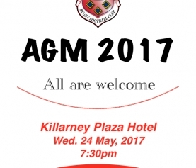 AGM Notice – 24th of May, 2017