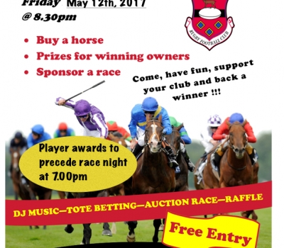 Killarney RFC presents: A Video Race Night