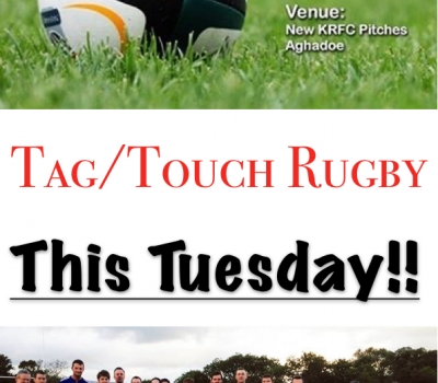 Tag n' Touch Rugby returns this Tuesday!
