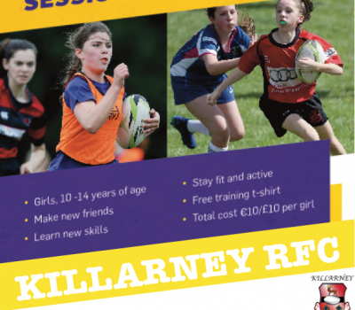 KRFC present Girls only 'Give it a try' summer programme