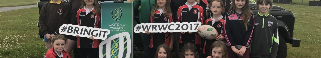 Women's Rugby World Cup Trophy visits Killarney