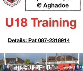 Youth Section back Training this week