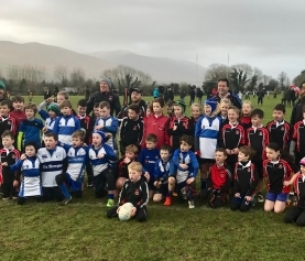KRFC Minis travel to Tralee RFC for Blitz
