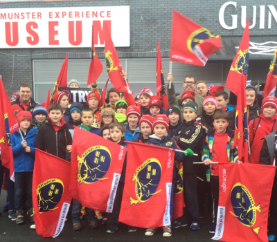 Minis visit to Thomond Park