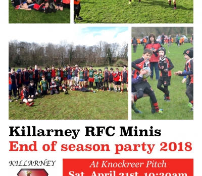 Minis End of Season next Saturday