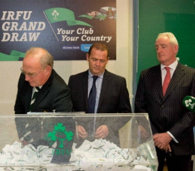 IRFU Your Club Your Community draw results