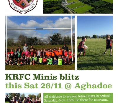 KRFC Minis host Minis Blitz this Saturday!