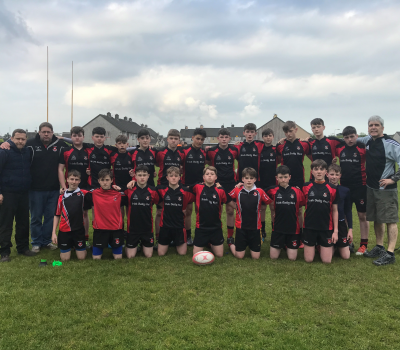 Killarney RFC U14's complete fantastic League and Cup double