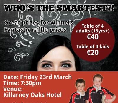 Table Quiz in aid of Minis