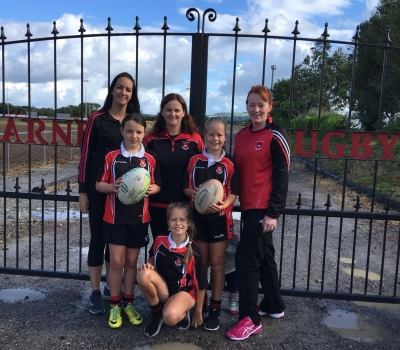 Girls only Give tag rugby a try