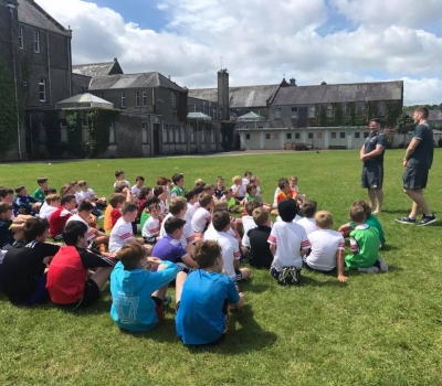 Munster Rugby stars light up Summer Camp