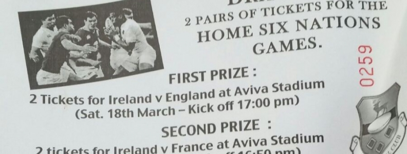 Minis Blitz, Senior win on the road, 6 Nations raffle and U18's & U16's in crackers