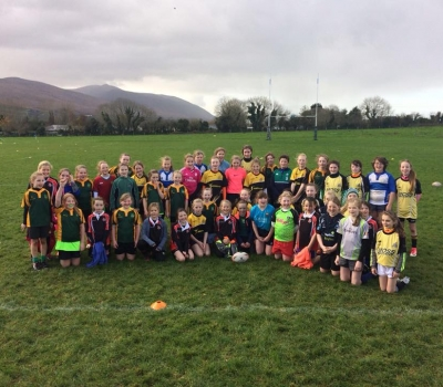 KRFC Girls take part in inaugural Kerry Girls Blitz