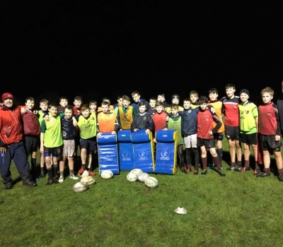 KRFC Youths results and training under lights